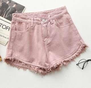 🔥 $12 🔥 Pink Denim Shorts