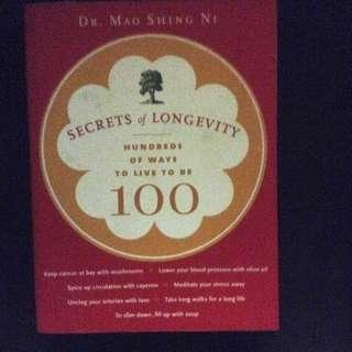 The Secrets of Longevity Hardbound