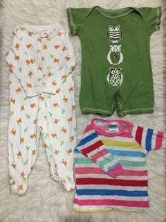 Bundle Frogsuit/Onesie/Top