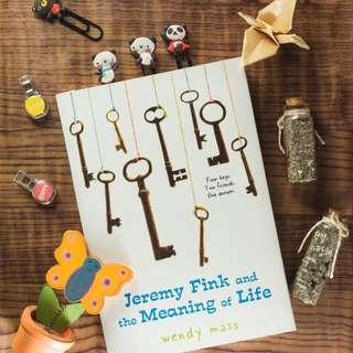 Jeremy Fink and The Meaning of Life - Wendy Mass