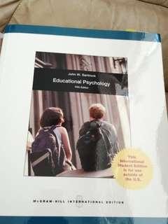Educational Psychology by John Santrock 5th edition