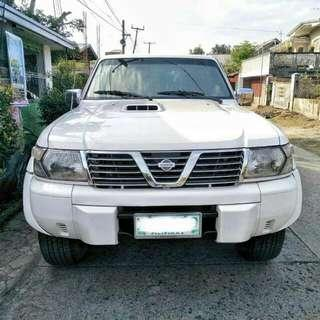 RUSH SALE 2002 Nissan Patrol Luxury SUV AT Diesel 🚙