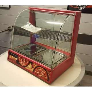 Glass Display Food Warmer