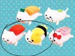 Sushi Neko plushies