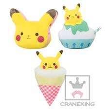 Full Set Pikachu Dessert Plush