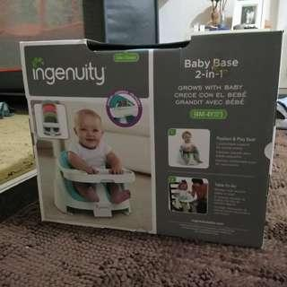 [ORIGINAL] INGENUITY BABY  BABY BASE 2 IN 1 SEAT