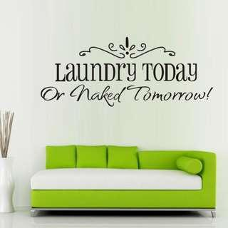 Laundry Wall Decor