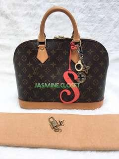 LOUIS VUITTON ALMA MONOGRAM MM 2011