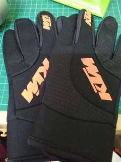 ktm original glove all black