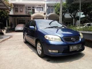 Toyota vios 2003 type E manual