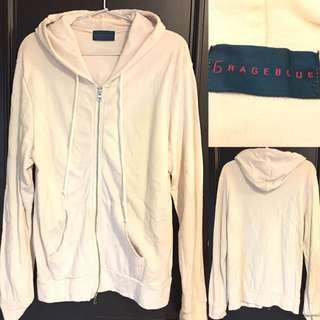99%🆕日牌RAGEBLUE 男裝有帽拉鏈外套 Japan zip up hoodies