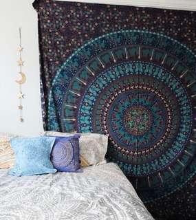 #21: Mystical Ritual QUEEN SIZE Mandala Tapestry