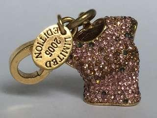Juicy Couture Lmtd Ed. Pave Tshirt Charm