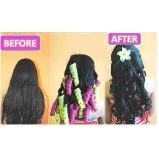 Penggeriting Rambut Alami Keriting Rambut Flat Iron Curly Iron Curling Iron Catokan Rambut Bergelombang Spiral Curl Hair Wave Hair