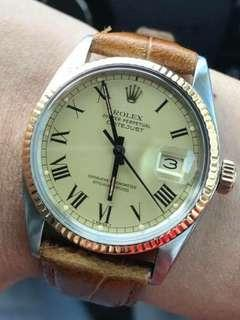 Datejust 16013 Buckley Dial for Sale