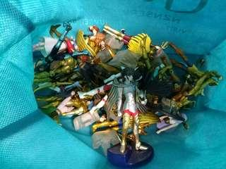(二手) 聖鬥士星矢 扭蛋 一堆
