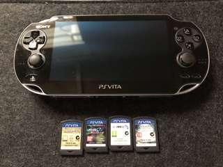 Ps vita 連4隻game 加 保護套
