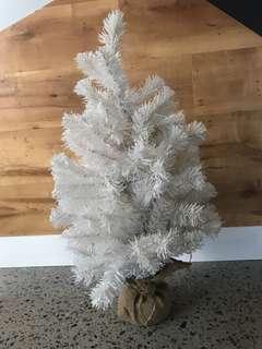 Adairs white Christmas tree decoration