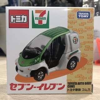 Tomica 7-11 ToYota 電單車