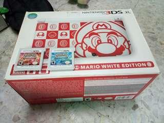 2nd MARIO EDITION NINTENDO 3DS XL COMPLETE SET