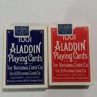 🚚 1001 ALADDIN POKER CARD'S