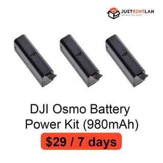 [RENT] DJI Osmo Battery Power Kit (980mAh)