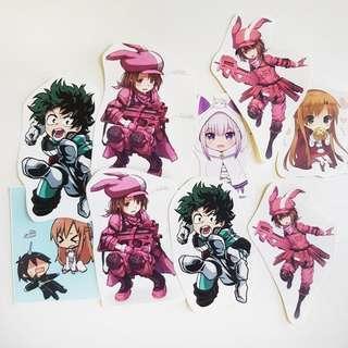🚚 Anime Stickers