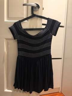 BNWT Seed off-the-shoulder top