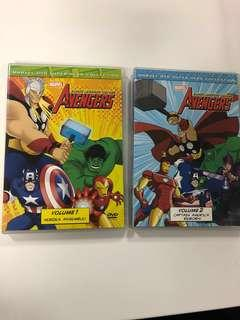 Marvel Avengers Earth's mightiest heroes volume 1 and 2