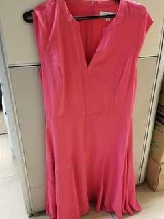 Woman Pink Dress 上班衫
