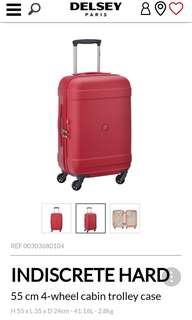New Delsey Indiscrete Cabin size Luggage