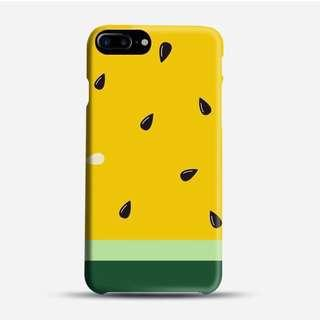 🚚 Yellow Melon Phone Case