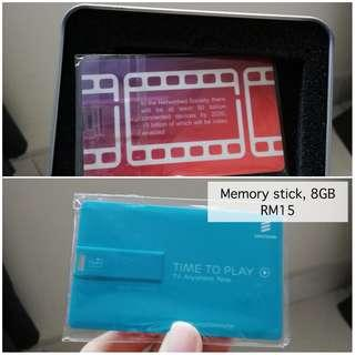 Memory stick card 8GB