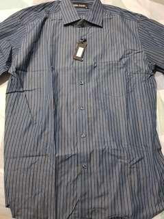Brand New - John Kevin_Mens Long Sleeve Bold Stripe