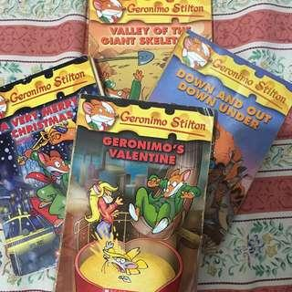 Geronimo Stilton book set