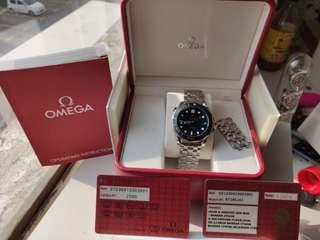 Omega Seamaster 300M Ceramic Bezel Blue Dial James Bond Automatic Co axial