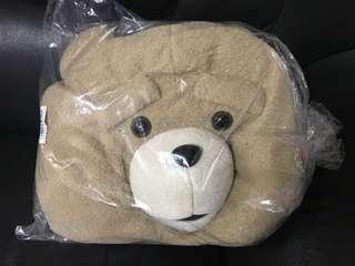 正牌日本景品賤熊Ted毛公仔袋