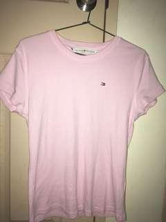 Tommy Hilfiger Pink Womens Shirt