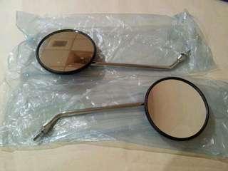 🚚 電鍍後照鏡 正牙8mm