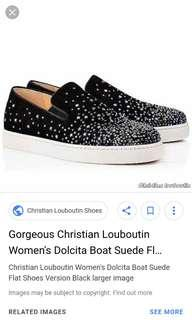 Christian Louboutin sneakers dolcita suede