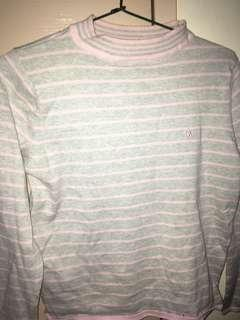 Ralph lauren Pink and grey Top