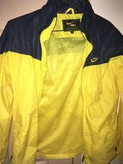 Nike Yellow And Blue Windbreaker
