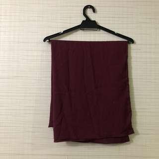 Thattudung maroon shawl