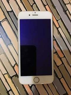 iphone 6 - 64 gb - gold (home key NOT work)