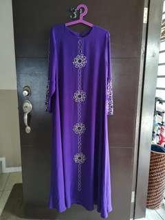 Jubah Purple