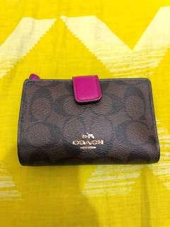 Repriced! Auth 💯Coach Wallet