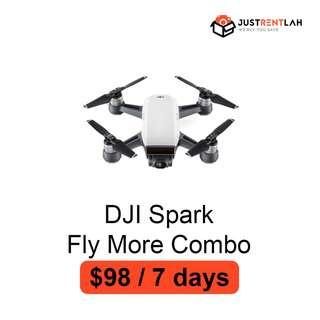[RENT] DJI Spark (Fly More Combo)