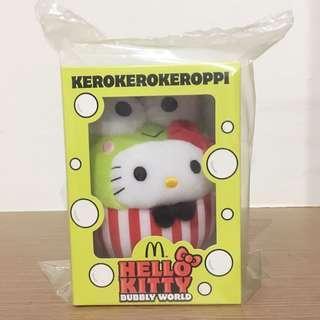 [BNIP] Hello Kitty Kerokerokeroppi Bubbly World Plush Toys