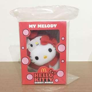 [BNIP] Hello Kitty My Melody Bubbly World Plush Toys