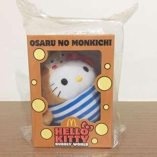 [BNIP] Hello Kitty Osaru No Monkichi Bubbly World Plush Toys